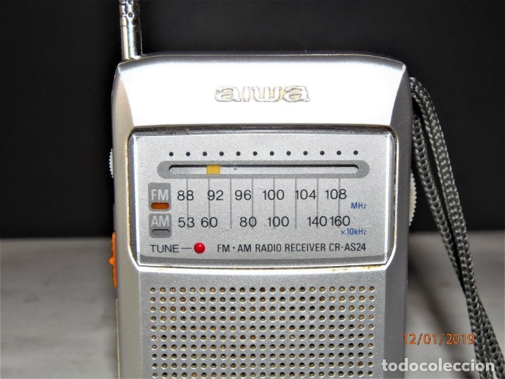 Radios antiguas: RADIO AIWA CR-AS24 10 € - Foto 2 - 146663898