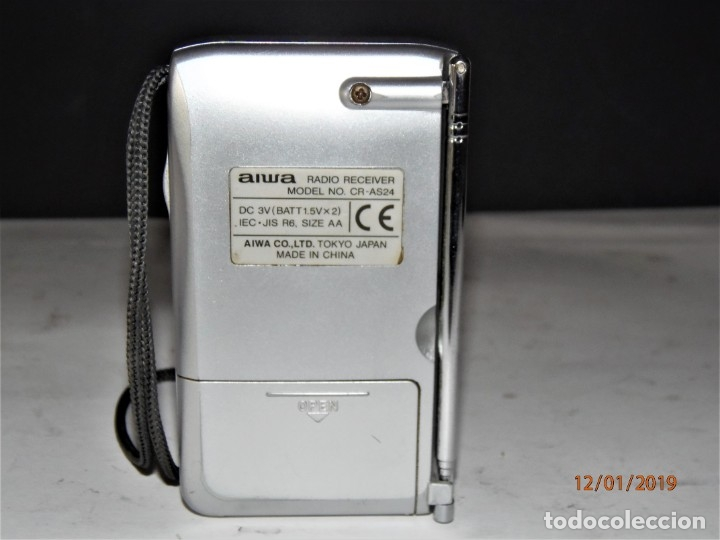 Radios antiguas: RADIO AIWA CR-AS24 10 € - Foto 4 - 146663898