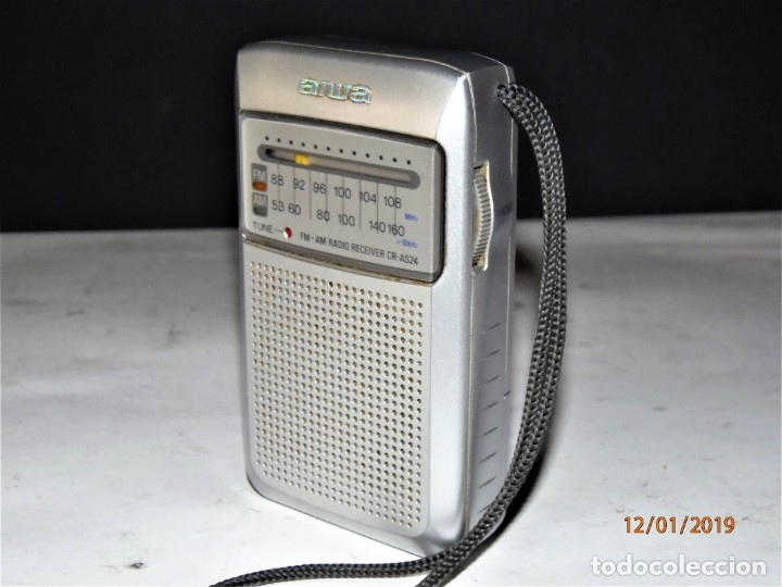 Radios antiguas: RADIO AIWA CR-AS24 10 € - Foto 5 - 146663898