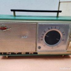 Radios antiguas: RADIO INTER MODELO NIZA DE LOS PRIMEROS . Lote 150953874