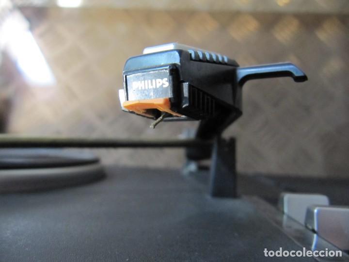 Radios antiguas: Lote Tocadiscos Radiocassette. 940 PHILIPS funcionando - Foto 7 - 151428858
