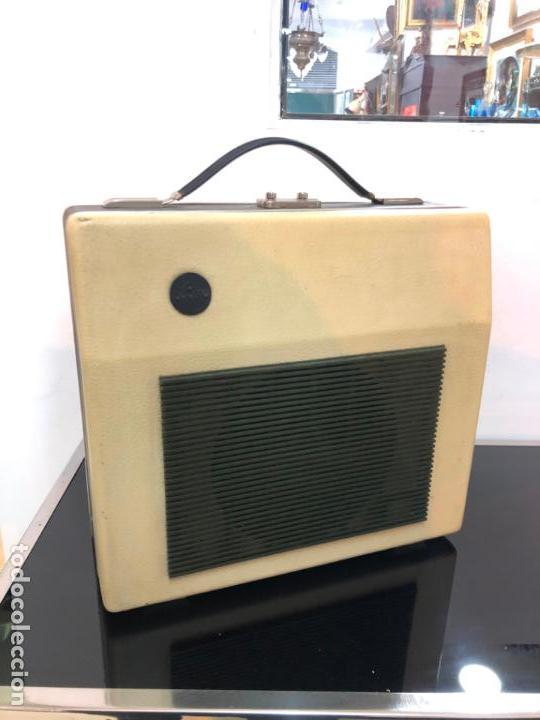 Radios antiguas: MALETIN PICK-UP AÑOS 70 - FUNCIONANDO Y MUY BUEN ESTADO - Foto 3 - 151442802
