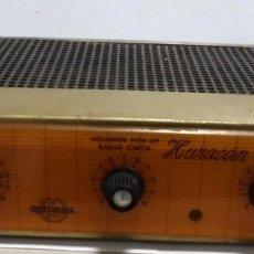 Radios antiguas: ANTIGUA RADIO. MARCA OPTIMUS RADIO. HURACAN. MODELO 825. 120 WATIOS. FUNCIONA. VER. Lote 151701250