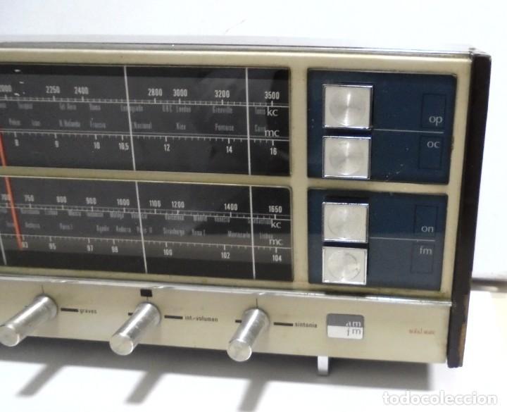 Radios antiguas: ANTIGUA RADIO. MINUTEMAN 62T. VANGUARD. SOLID STATE. FUNCIONA. VER - Foto 3 - 151701866