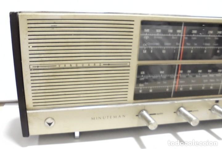 Radios antiguas: ANTIGUA RADIO. MINUTEMAN 62T. VANGUARD. SOLID STATE. FUNCIONA. VER - Foto 5 - 151701866