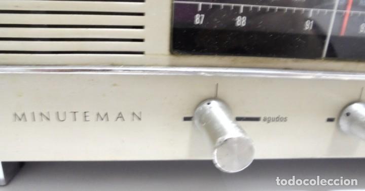 Radios antiguas: ANTIGUA RADIO. MINUTEMAN 62T. VANGUARD. SOLID STATE. FUNCIONA. VER - Foto 6 - 151701866