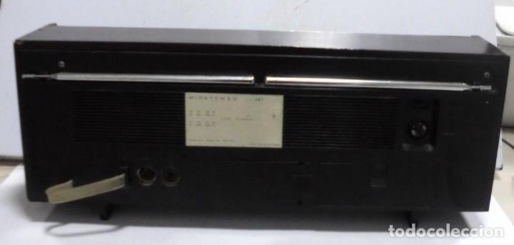 Radios antiguas: ANTIGUA RADIO. MINUTEMAN 62T. VANGUARD. SOLID STATE. FUNCIONA. VER - Foto 10 - 151701866
