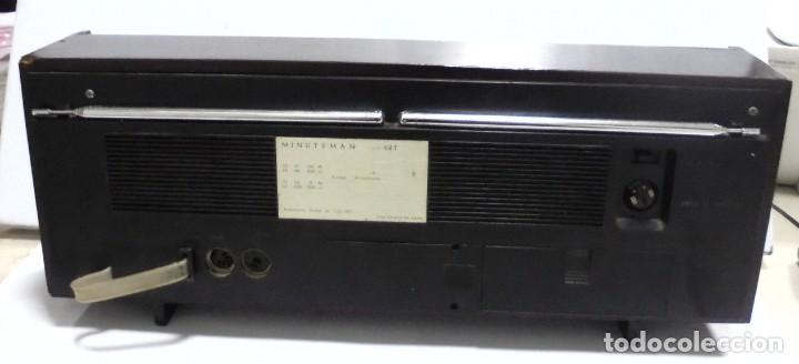 Radios antiguas: ANTIGUA RADIO. MINUTEMAN 62T. VANGUARD. SOLID STATE. FUNCIONA. VER - Foto 14 - 151701866