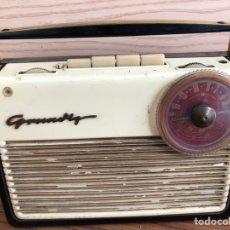 Radios antiguas: RADIO TRANSISTOR GRUNDING-DRUCKTASTEN-BOY 57.. Lote 152177292