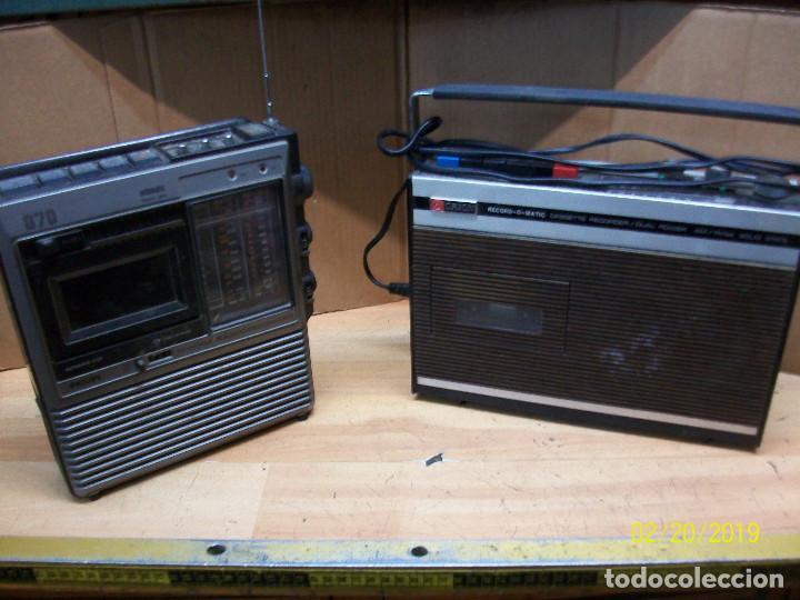 LOTE DE 2 RADIOS-PHILIPS MODELO 070 Y ORION (Radios, Gramófonos, Grabadoras y Otros - Transistores, Pick-ups y Otros)