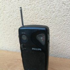 Radios antiguas: RADIO TRANSISTOR PHILIPS MINISTER FM FUNCIONANDO SELECTOR AM NO FUNCIONA . Lote 155875870