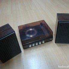 Radios antiguas: TOCADISCOS BETTOR DUAL 420 CON ALTAVOCES. Lote 153106026