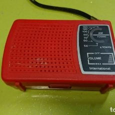 Radios antiguas: RADIO TRANSISTOR INTERNATIONAL . Lote 153318478
