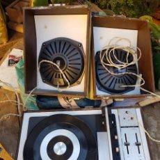 Radios antiguas: ANTIGUO Y RARO TOCADISCOS DE WALD D-5010. Lote 153544409