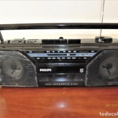 Radios antiguas: RADIO CASSETTE PHILIPS AQ5190 AÑO 1987. Lote 153693986
