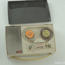 Radios antiguas: VINTAGE MAGNETÓFONO GRUNDIG NIKI MALETÍN PORTATIL . Lote 153781430