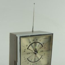 Radios antiguas: ANTIGUO RADIO RELOJ TRANSISTOR FM/AM MARCA CANDLE JAPON. Lote 153842462