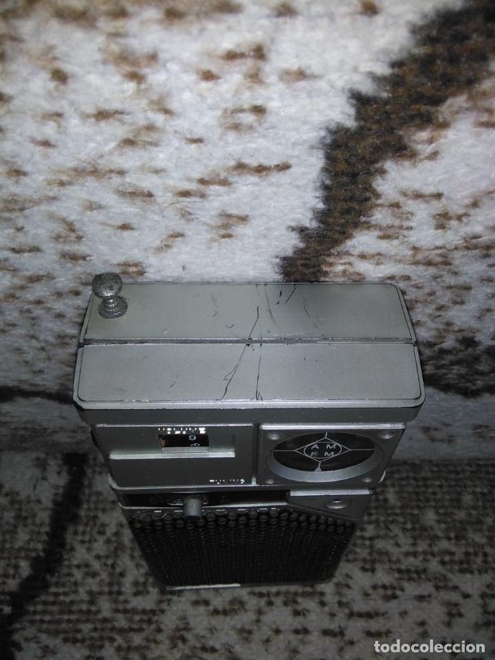 Radios antiguas: TRANSISTOR RADIO SATSONIC vintage - Foto 2 - 154006654