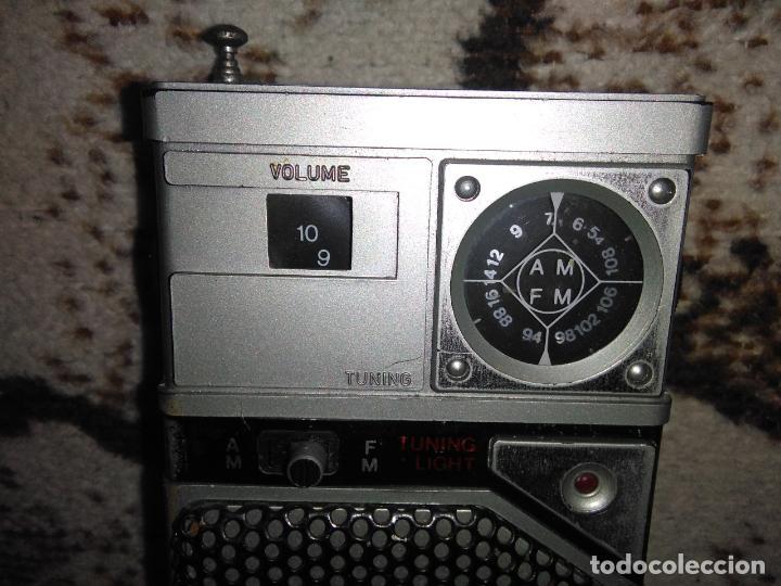 Radios antiguas: TRANSISTOR RADIO SATSONIC vintage - Foto 3 - 154006654