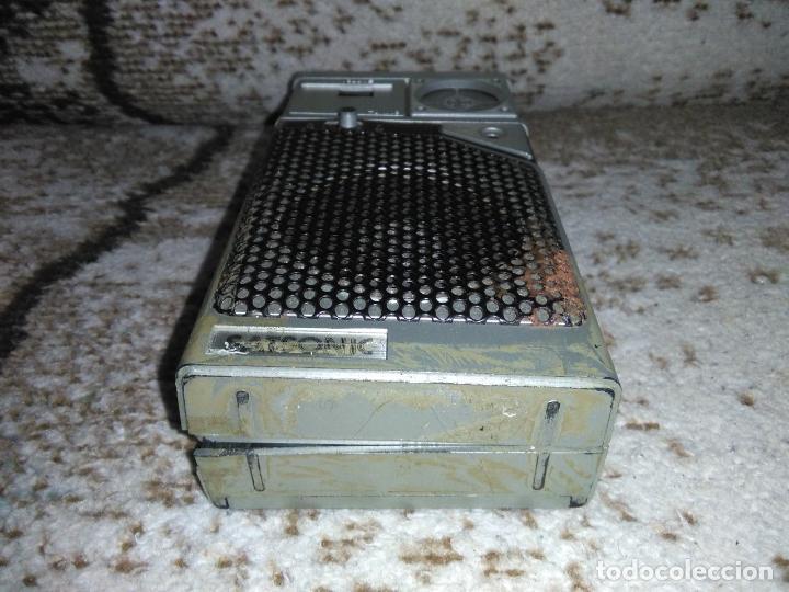 Radios antiguas: TRANSISTOR RADIO SATSONIC vintage - Foto 10 - 154006654