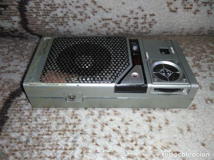Radios antiguas: TRANSISTOR RADIO SATSONIC vintage - Foto 12 - 154006654