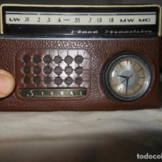 Radios antiguas: RADIO TRANSISTOR SIGNAL. Lote 154034694