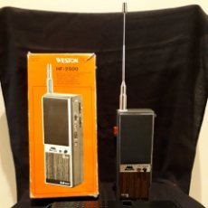 Radios antiguas: ANTIGUO WALKIE WESTON.. Lote 154198036