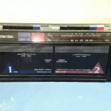 Radios antiguas: RADIOCASSETTE GRABADOR INTERNACIONAL. Lote 154215322