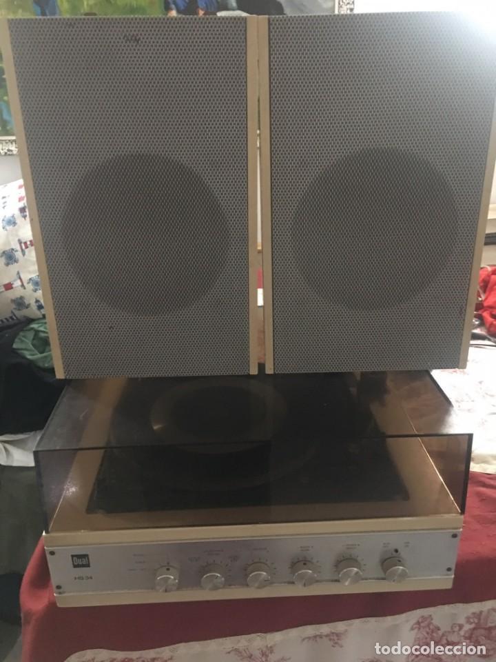 TOCADISCOS DUAL HS 34 (Radios, Gramófonos, Grabadoras y Otros - Transistores, Pick-ups y Otros)