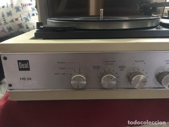 Radios antiguas: TOCADISCOS DUAL HS 34 - Foto 5 - 154251554