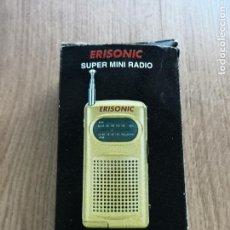 Radios antiguas: RADIO PEQUEÑA DE TRANSISTORES. SIN ESTRENAR. Lote 154290486