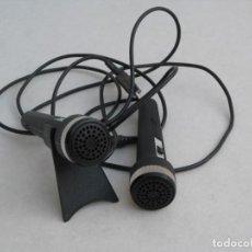 Radios antiguas: DOS MICROFONOS SANYO. SIN PROBAR.. Lote 154296506