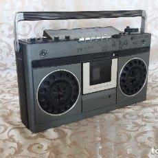 Radios antiguas: RADIO CASSETE VINTAGE, NATIONAL PANASONIC RS - 466FDS, JAPÓN, MUCHOS CONTROLES, A REVISAR. Lote 154474458