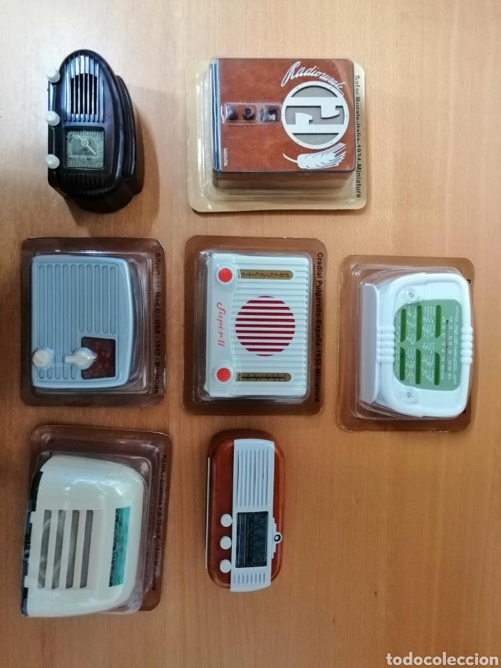 Radios antiguas: ESPECTACULAR LOTE DE 37 RADIOS EN MINIATURA. RADIOS DE ANTAÑO. TODOS LOS FASCÍCULOS. - Foto 16 - 145261782
