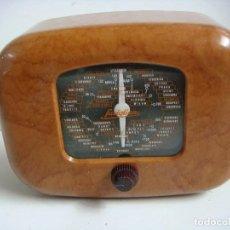 Radios antiguas: RADIO EN MINIATURA DE PILAS FUNCIONANDO DE LA COLECCION RADIOS ANTIGUAS. Lote 154541318