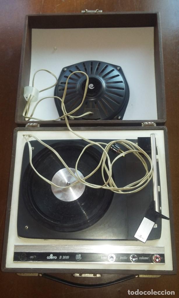 Radios antiguas: Tocadiscos Cosmo B3010 .Vintage. - Foto 2 - 154685926