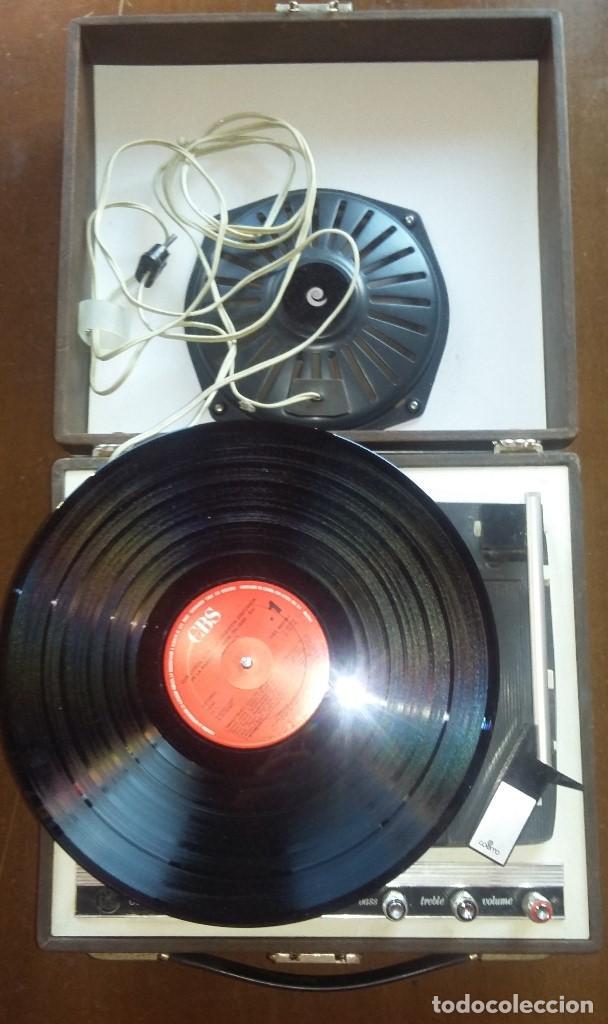 Radios antiguas: Tocadiscos Cosmo B3010 .Vintage. - Foto 3 - 154685926