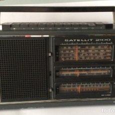 Radios antiguas: RADIO MULTIBANDA DEL AÑO 1977GRUNDIG SATELLIT 2100MADE IN GERMANY. Lote 154864078