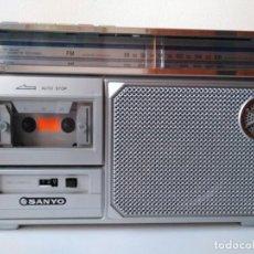 Radios antiguas: RADIO CASETTE SANYO. Lote 154948046