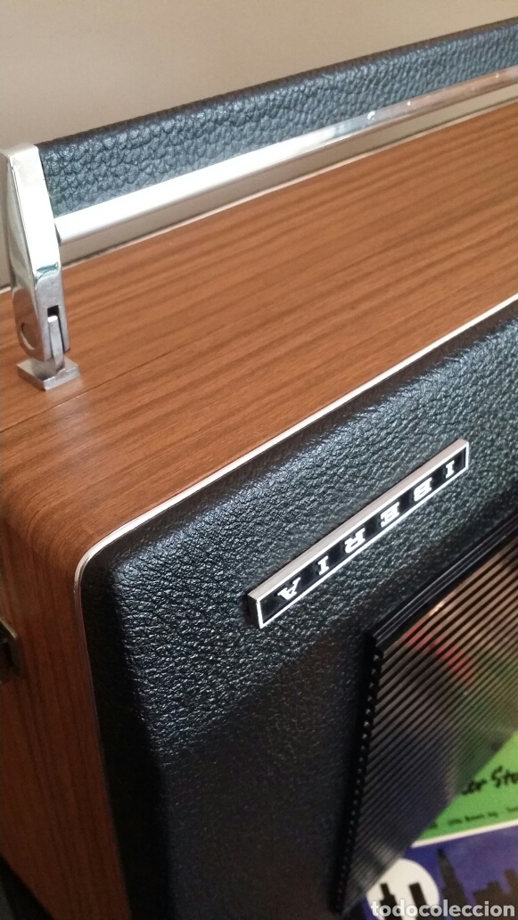 Radios antiguas: Tocadiscos de maleta pick up Iberia - Foto 4 - 155220094