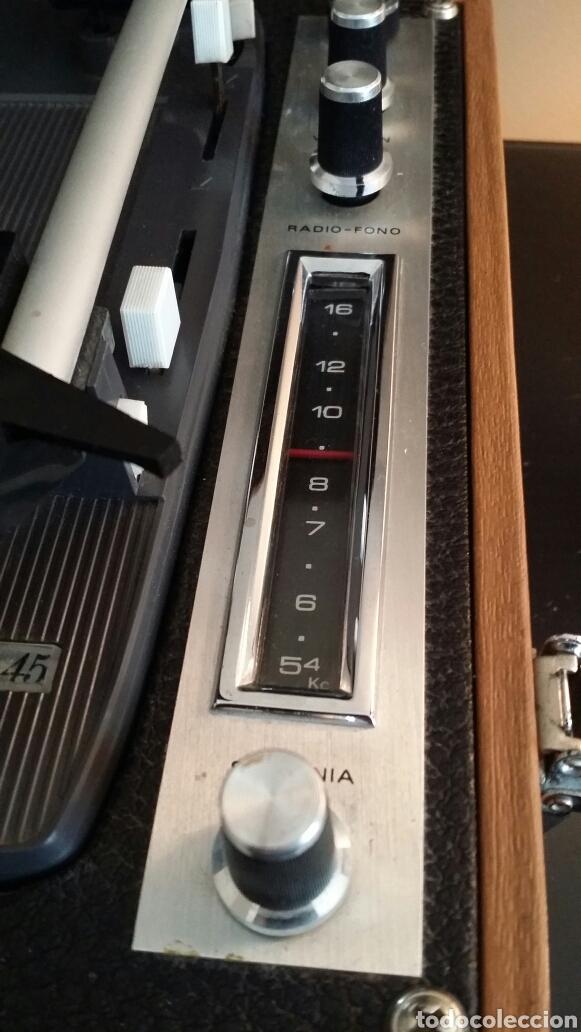 Radios antiguas: Tocadiscos de maleta pick up Iberia - Foto 6 - 155220094