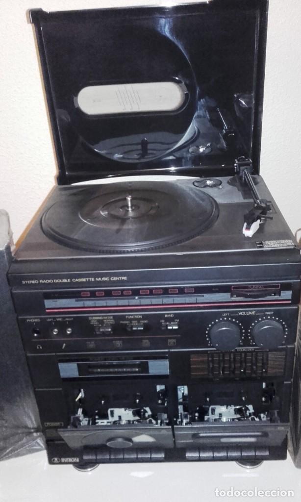 Radios antiguas: EQUIPO DE MÚSICA MARCA INTRON - AÑOS 70-80 - Foto 2 - 155235602