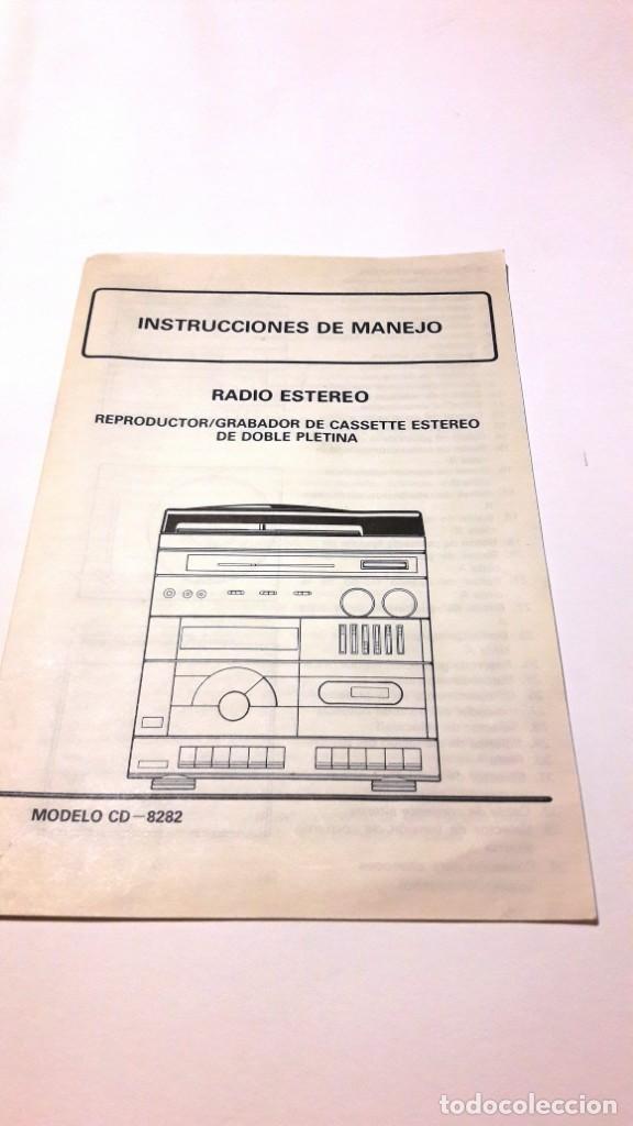 Radios antiguas: EQUIPO DE MÚSICA MARCA INTRON - AÑOS 70-80 - Foto 9 - 155235602