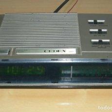 Radios antiguas: RADIO DESPERTADOR CEDEX. Lote 155279718