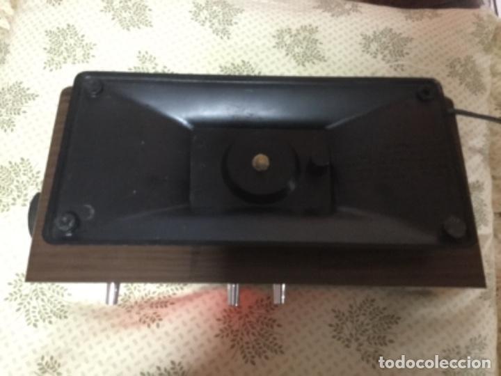 Radios antiguas: Radio despertador QUALITY años 70 funcionando VINTAGE. como el de la pelicula de SOLO EN CASA - Foto 6 - 155404302