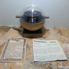 Radios antiguas: ESTUPENDA RADIO REDONDA TUNDERBOL INTER ANTIGUA AÑOS 70 MUY RARA. Lote 155688354