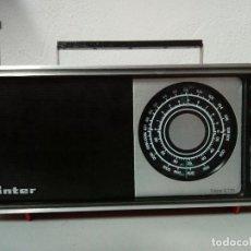 Radios antiguas: RADIO TRANSISTOR INTER NIZA LL. Lote 155688618