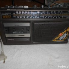 Radios antiguas: RADIO CASSETTE PHILIPS. Lote 155945982