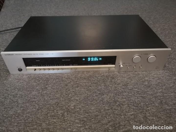 SINTONIZADOR AM FM LUXMAN T-115 METAL 1981/1985 (Radios, Gramófonos, Grabadoras y Otros - Transistores, Pick-ups y Otros)
