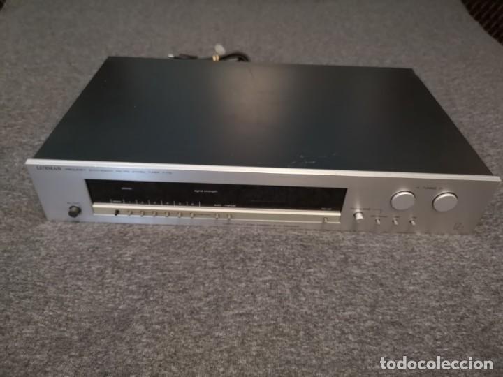 Radios antiguas: Sintonizador AM FM Luxman T-115 metal 1981/1985 - Foto 5 - 155982334